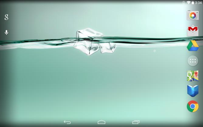 Роскошные живые обои MyWater для Android покажут заряд