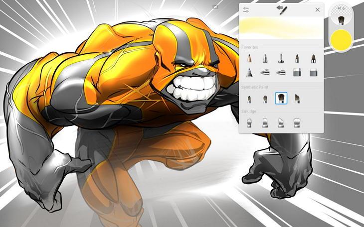 Android-приложение SketchBook от AutoDesk для мастеров цифровой кисти