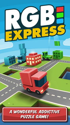 Обзор головоломки RGB Express для iPhone/iPad: разноцветная доставка