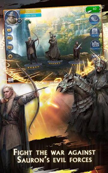 Игра Властелин колец для Android: сотня персонажей со всего Средиземья в простенькой RPG