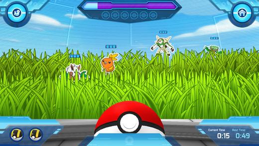 Детская игра Camp Pokemon для iPhone и iPad: покемоны возвращаются