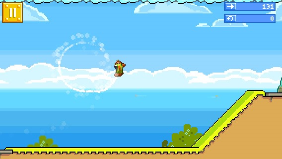 Игра RETRY для Android от Rovio: неплохой клон Flappy Bird