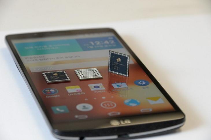 LG G3 Screen - новый планшетофон на собственном процессоре LG