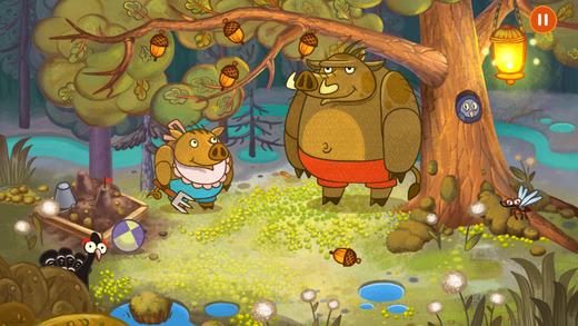 Лесные приключения для детей с игрой Forestry для iPhone и iPad
