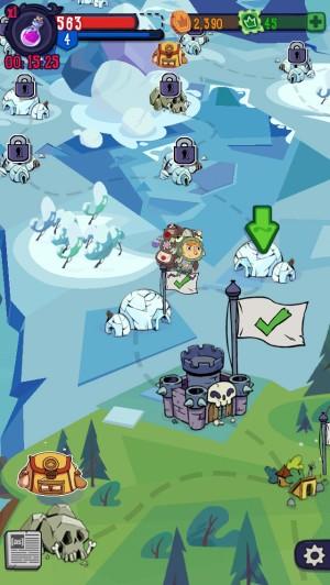 Обзор iOS-игры Adventure Xpress: почтальон против скелетов