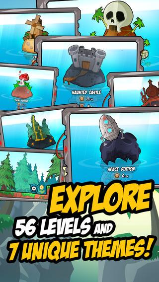 Обзор игры Splot для iPhone/iPad: прыгучий одноглазый спаситель пришельцев
