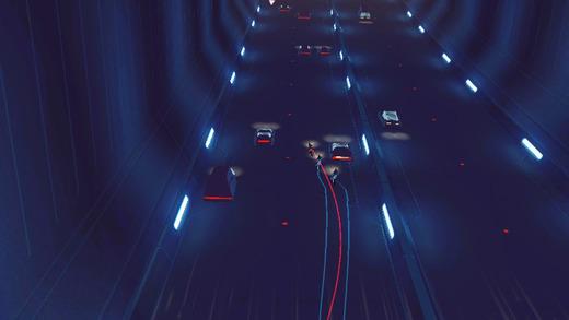 Обзор iOS-игры Vektor: стильная бесконечная погоня по ночному городу будущего