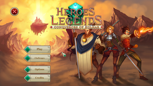 Обзор фэнтезийной RPG Heroes & Legends: Conquerors of Kolhar для Android и iOS