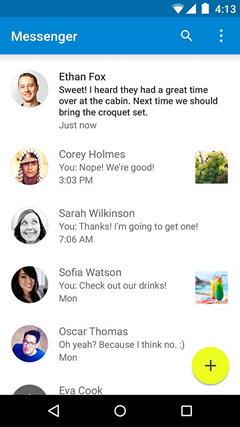 Чат - новый мессенджер для Android от Google