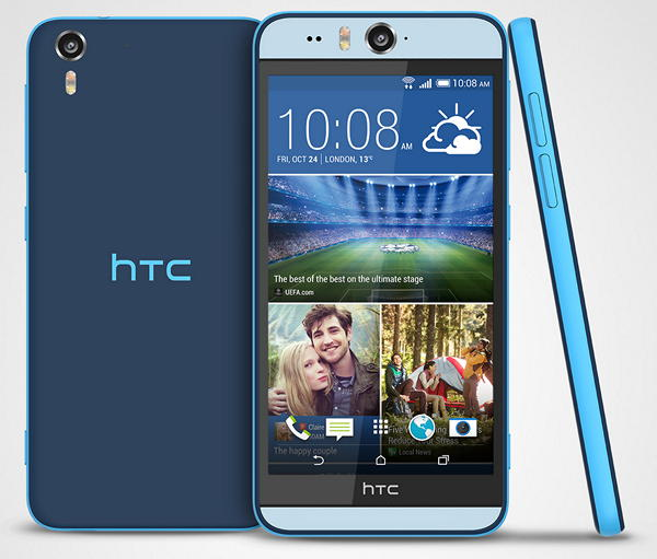 Смартфон для сэлфи HTC Desire EYE в России по цене 24 990 рублей