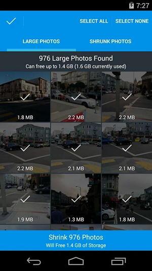 PhotoShrinker поможет освободить память на вашем iPhone или Android-смартфоне