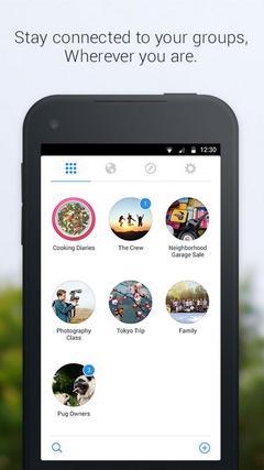 Facebook Groups - отдельное приложение для групп в Facebook