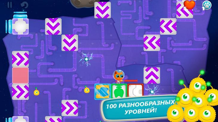 Space Kitty Puzzle – головоломка про приключения котика в космосе