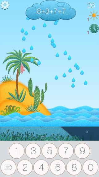 Игра Math Drops - Математические Капли для iPhone