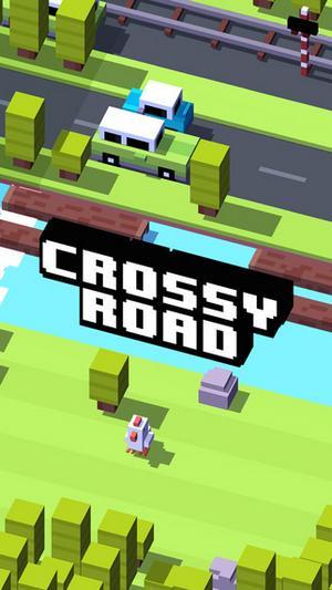 Обзор игры Crossy Road для iOS: помогите вампиру перейти дорогу
