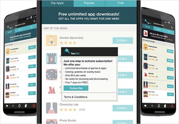 Opera предлагает сотовым операторам открыть свой магазин мобильных приложений