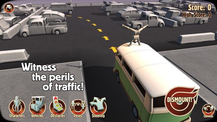 Игра Turbo Dismount для Android
