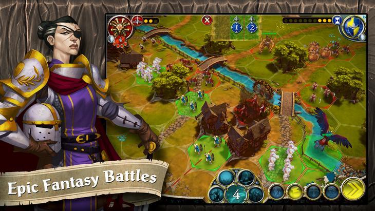 Игра BattleLore: Command для Android