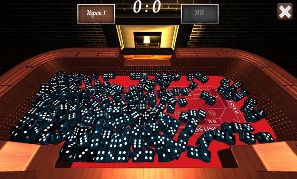 GODice 2 – трехмерный симулятор игральных костей для Android