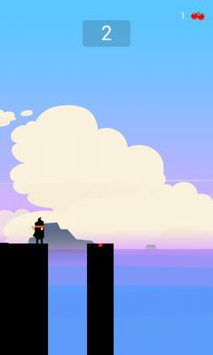Обзор игры Stick Hero для Android: наводим мосты через пропасти