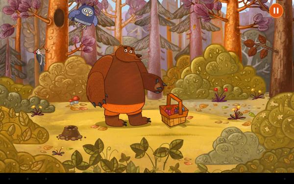 Обзор детской игры Forestry для Android