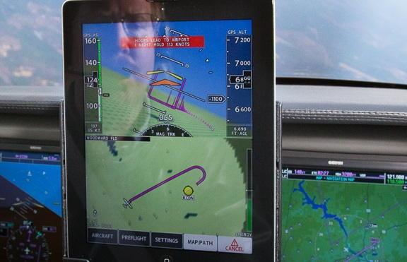 Приложение для iPad посадит ваш самолет