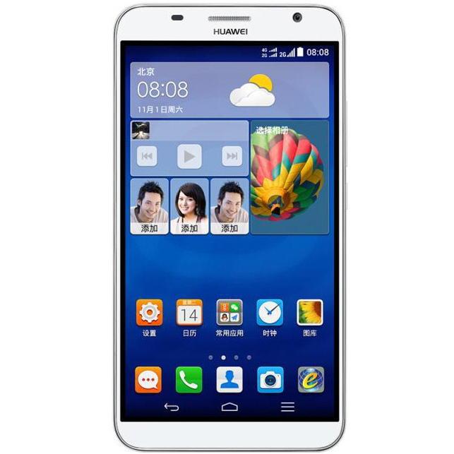 Смартфон Huawei Ascend GX1: 6-дюймовый экран и 64-битный процессор