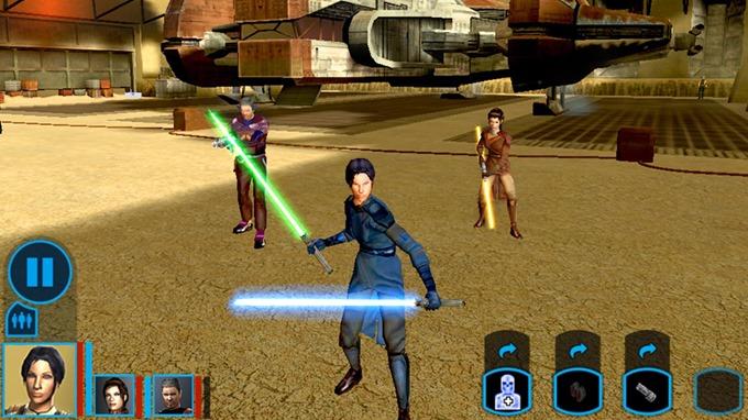 Игра Star Wars Knights Of The Old Republic для Android: хит из золотого фонда RPG