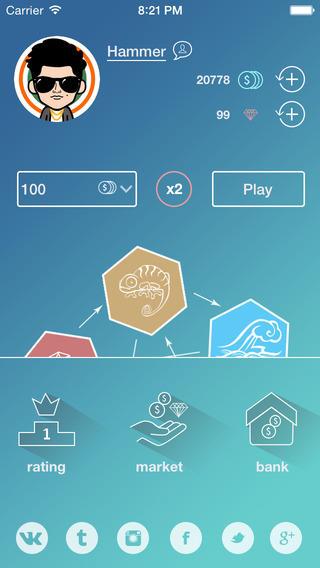 Игра HoozaLooza для iPhone: испытание вашей удачи