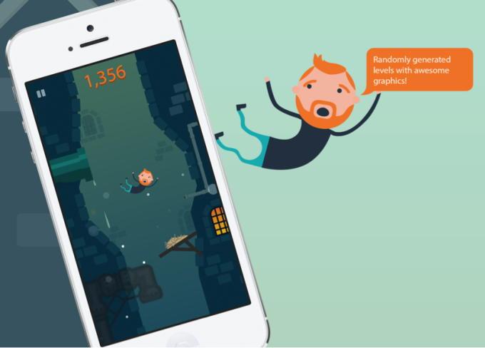 Игра Plummet для iPhone