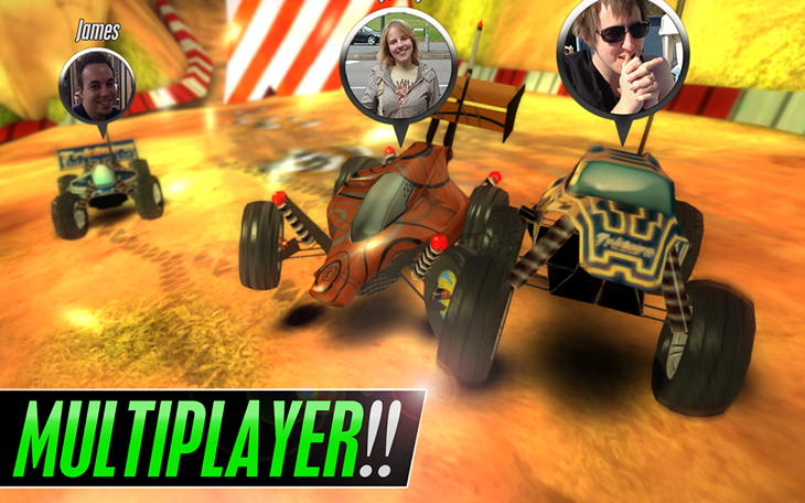 Игра Touch Racing 2 для Android