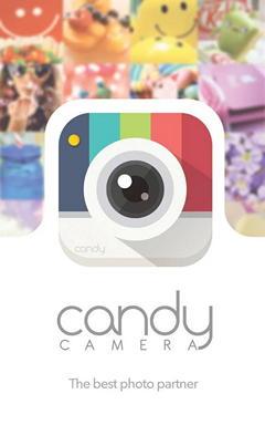 Candy Camera – приложение для съемки и улучшения сэлфи и портретов на Android