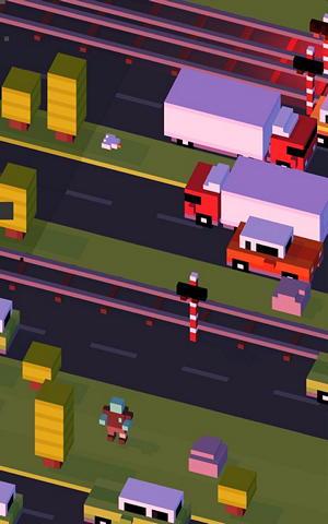 Crossy Road – переводим вампира через дорогу