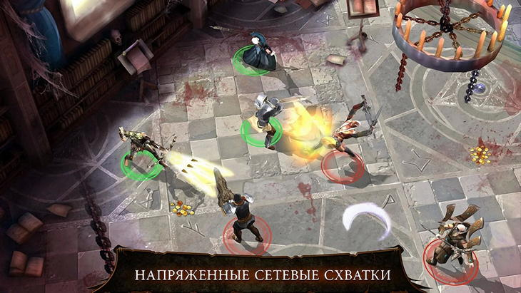 Dungeon Hunter 4: отменная RPG для Android