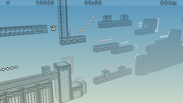 Обзор игры 1-bit Ninja Remix Rush для iPhone и iPad: «умный» бесконечный платформер