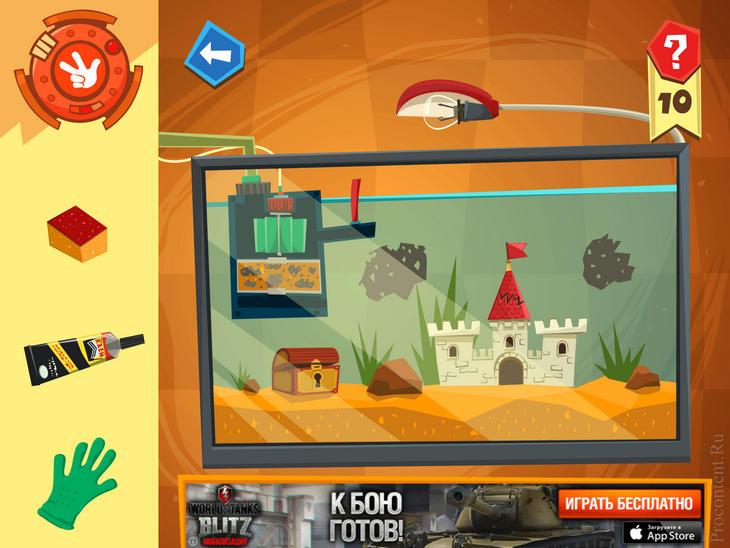 Обзор игры Фиксики Мастера для iPhone и iPad