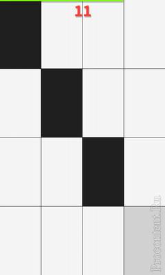Обзор игры Piano Tiles для Android: жмем на черные плитки под классику