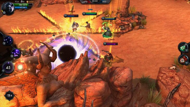 Ведьмак Геральт в MOBA-игре The Witcher Batte Arena для Android и iPhone