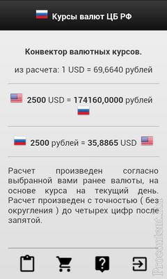 Курсы валют ЦБ России: курс рубля к девяти валютам