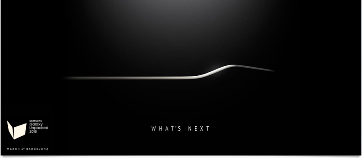 Galaxy S6: Samsung намекает на изогнутый экран