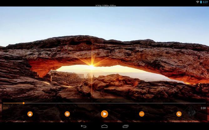 Видеоплеер VLC для Android