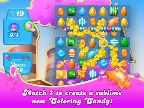 Скриншот Candy Crush Soda Saga для iPad