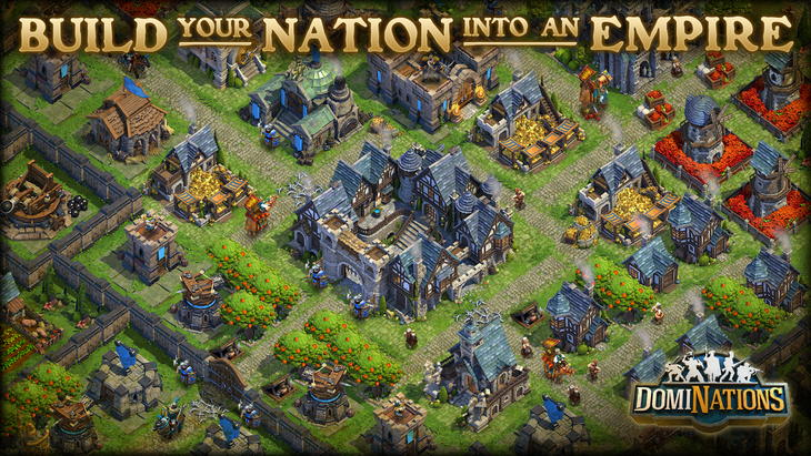 Смесь Clash of Clans и Цивилизации в игре DomiNations для Android и iOS