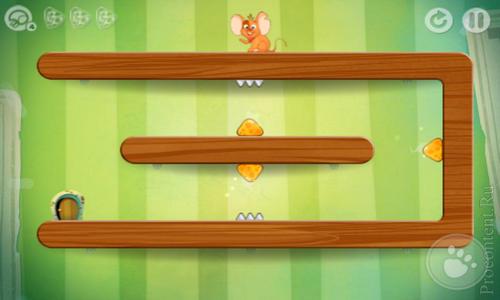 Скриншот головоломки TripTrap для Android и iOS