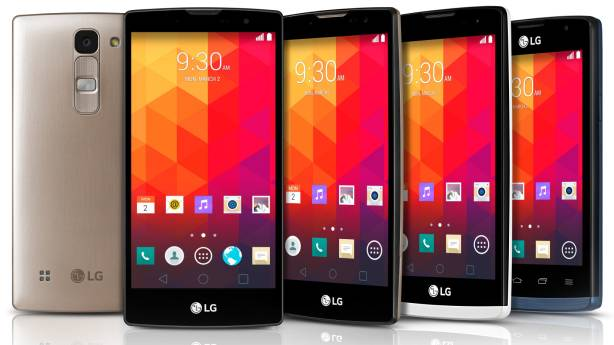 Фото: смартфоны LG Leon, Spirit, Magna и Joy