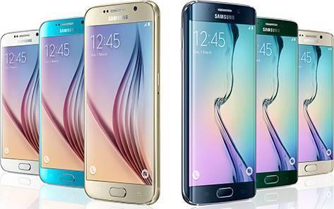 Фото Galaxy S6 и Galaxy S6 Edge