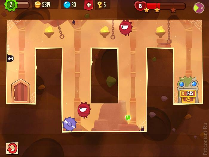Скриншот мобильной игры King of Thieves от Zeptolab