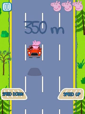 Игра Свинка Пеппа в машине
