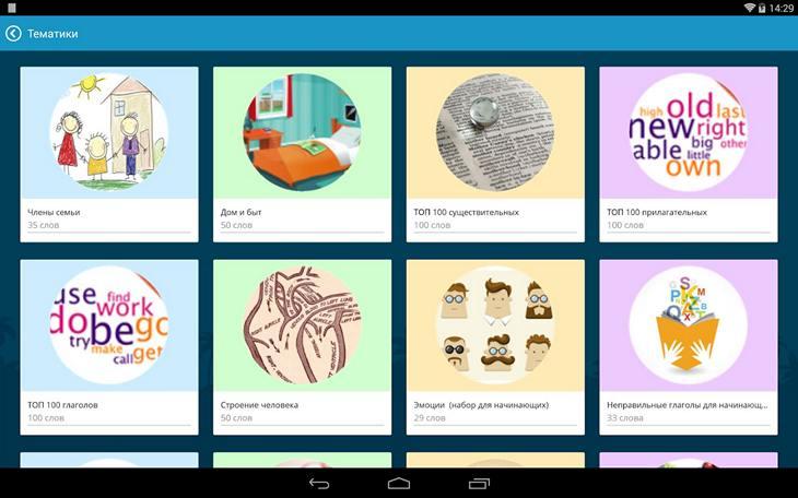 Приложение LinguaLeo на Андроид - учим английский