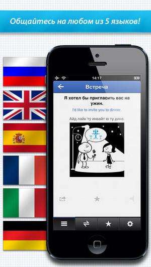 Разговорники ABBYY Lingvo для iPhone